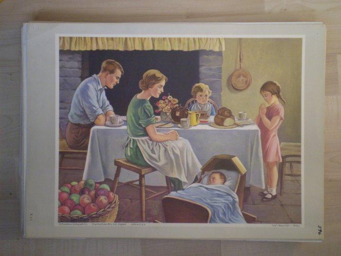 God's Many Gifts Providence Lithograph Vintage Brisley print