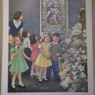 Let The Children Come Providence Lithograph Vintage Handsaker