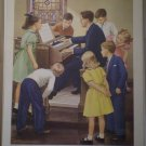 Music For Our Church Providence Lithograph Vintage Handsaker