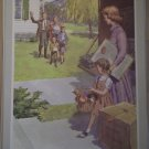 New Neighbors Providence Lithograph 1961 Timmins Print