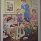 Sharing Providence Lithograph 1956 Pointer Vintage Print