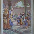 Song of Praise Providence Lithograph Vintage Tobin Print