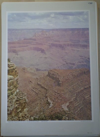 The Earth Is The Lord's National Park Service Litho
