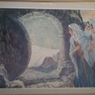 The Resurrection Providence Lithograph 1962 Godwin print