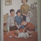 When You Were Born Providence Lithograph 1963 Timmins Print