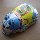 Vintage Blue Yone Dog Tin Wheels Japan #5