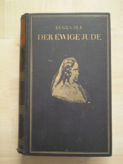 Eugen Sue Der Ewige Jude Karl Boegels 1928 German Hardcover