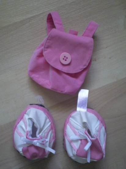 Friends 2B Made Build a Bear Sneakers Backpack shoes bag