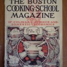 Boston Cooking School Magazine March 1914 Vol 18 #8