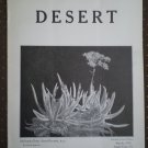 Desert Magazine March 1930 Vol I No. 11 Plants Cacti Flora