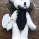 Boyds Bears T.F. Wuzzies Mini Plush Bear Ornament TF