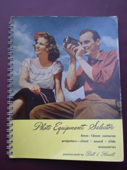 Photo Equipment Selector Bell & Howell Brochure Vintage #5286