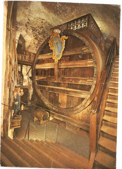 Heidelberg Castle Germany vintage postcard Giant Keg Beer