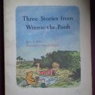 Three Stories From Winnie The Pooh Scholastic Book TJ864 1st printing 1966