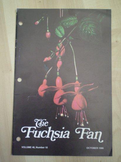 Fuchsia Fan Vol 46 #10 October 1986 Magazine