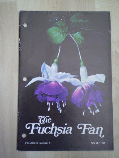 Fuchsia Fan Vol 46 #8 August 1986 Magazine
