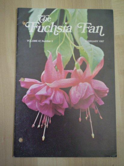 Fuchsia Fan Vol 47 #2 February 1987 Magazine