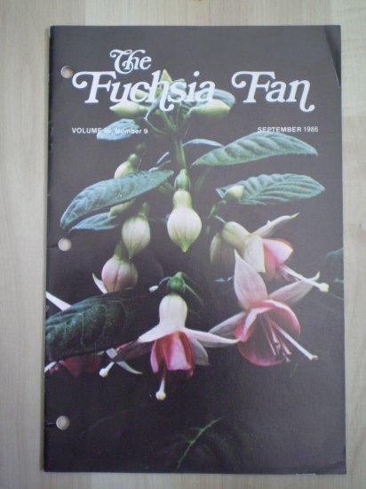 Fuchsia Fan Vol 46 #9 September 1986 Magazine