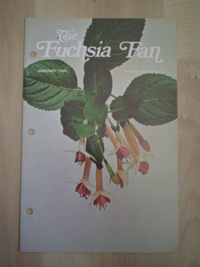 Fuchsia Fan Vol 46 #1 January 1986 Magazine