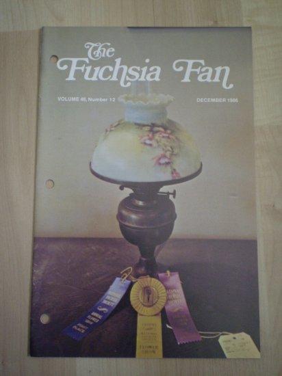 Fuchsia Fan Vol 46 #12 December 1986 Magazine
