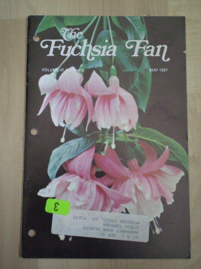 Fuchsia Fan Vol 47 #5 May 1987 Magazine