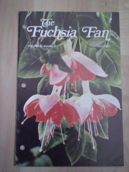 Fuchsia Fan Vol 47 #7 July 1987 Magazine