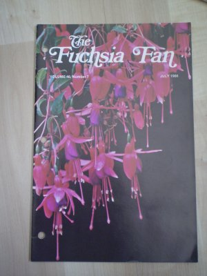 Fuchsia Fan Vol 46 #7 July 1986 Magazine