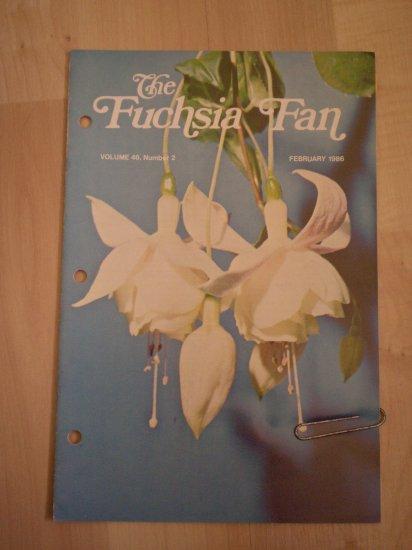 Fuchsia Fan Vol 46 #2 February 1986 Magazine