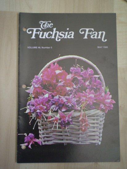 Fuchsia Fan Vol 46 #5 May 1986 Magazine