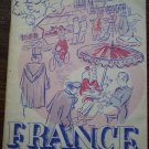 Pocket Guide to France PG-5 1951 Department of Defense Book