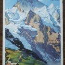 Kleine Scheidegg Switzerland Brochure Map Jungfraujoch