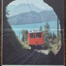 Rigi Vitznau Bahn Lake of Lucerne Switzerland Brochure 1960's Pamphlet