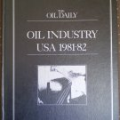 The Oil Daily Oil Industry USA 1981-82 hardcover 3rd ed Whitney
