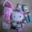 Lot Sanrio Hello Kitty Purse Toys Small Plush