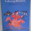 Amerikanisches Folksong-Buchlein 1975 Heinrichshofen American Folk songs