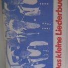 Das Kleine Liederbuch Herausgeber SPD Landesverband Songbook German