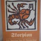 Skorpion 23 Oktober bis 21 November Heyne-Tierkreis Scorpio