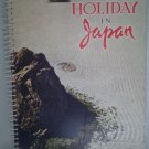 Holiday in Japan Guide Book Spiral-Bound 1950's Photographs Tourist