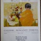 Vintage Ad Epko One Man Show 1964 Galerie Romanet Vercel Matinee de Printemps