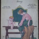 Broken Toy Song Sheet Music Gus Kahn Frank Magine Leon Flatow 1922