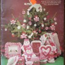 Quilted Fabric Baskets Dolls Heritage Hand Art HHA-2 1982