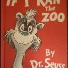 If I Ran The Zoo Dr Seuss HB 1978 BCE Random House