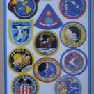 Apollo Manned Spacecraft Series Vinyl Decals Stickers VII-XVII