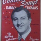 Comedy Songs Danny Thomas Mills Music 1951 Songbook Sheet Music