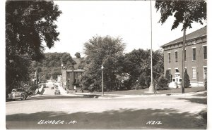Elkader IA N212 Iowa LL Cook RPPC vintage postcard