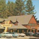 Zephyr Cove Lodge Market Lake NV Burto Frasher Tahoe vintage postcard