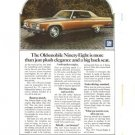 Oldsmobile Ninety Eight GM Vintage Ad 1971 Car Automobile 98