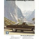 Chevrolet  Vintage 2-page Ad 1971 Car Automobile GM 1972