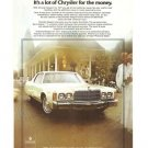Chrysler Newport 1977 Car Automobile Vintage Ad