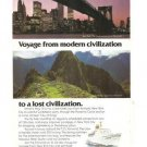 Sitmar Cruises Fairwind New York Lima 1977 Vintage Ad